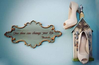 Una scarpa può cambiarti la vita... Guarda Cenerentola! Credits foto: Eileen Rivard