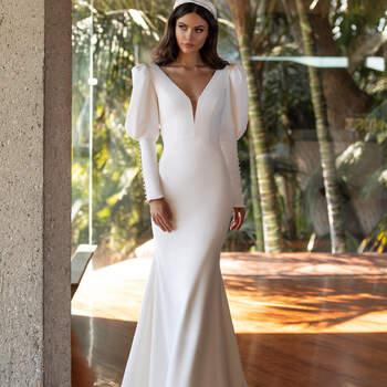 Créditos: Pronovias Cruise 2021 | Modelo do vestido: Turner