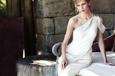 Vestidos de novia sencillos y vanguardistas para 2013