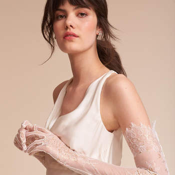 Adalia Lace Gloves. Credits: Bhldn