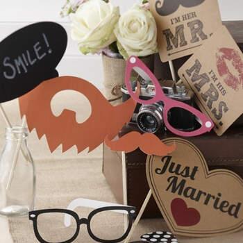 Atrezzo Photocall Pasión Vintage 10 unidades- Compra en The Wedding Shop