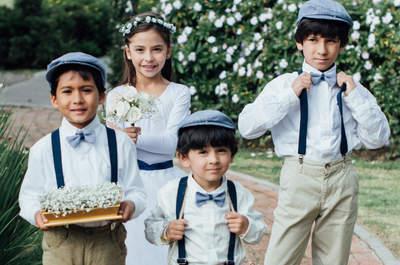 Tips para que los niños amen ir a las bodas