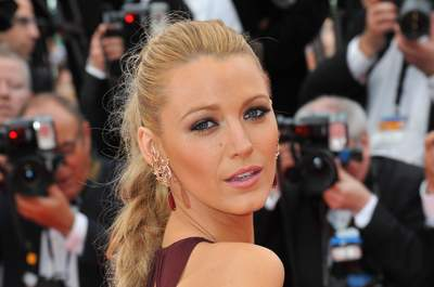 Blake Lively at the gala premiere of