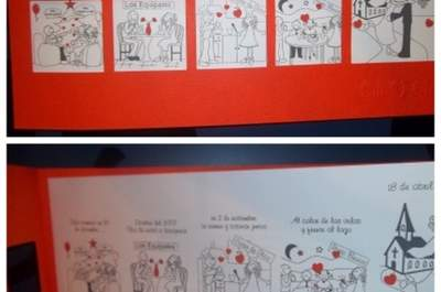 Ximena portal de bodas zankyou mxico invitacin de boda con tu historia de amor altavistaventures Images