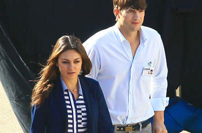 Ashton Kutcher et Mila Kunis se sont dit oui en secret !