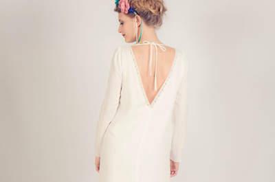 Robe de mariée Stephanie Wolff 2015: la touche française
