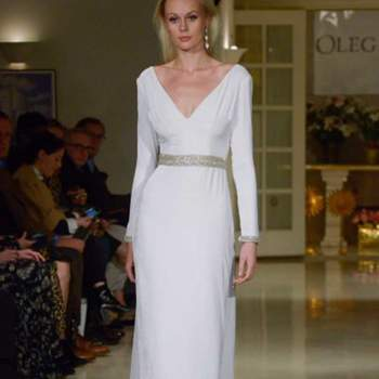 Oleg Cassini. Credits: New York Bridal Week