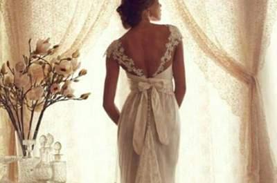Vestidos de novia para embarazadas 2017. ¡Comodidad y elegancia en un solo diseño!
