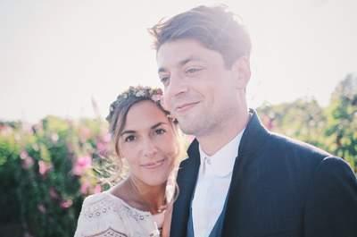 Margaux + Benjamin : leur mariage relax dans un corps de ferme, un beau 14 juillet