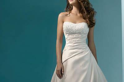 Os nossos vestidos de noiva favoritos da Colecção de Alfred Angelo