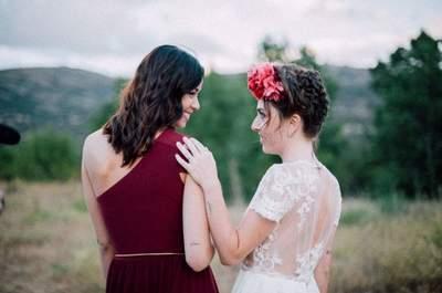 """Un rotundo """"sí"""" a los tatuajes: 25 looks de novia con personalidad y estilo"""