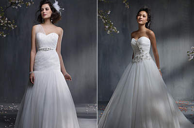 Requinte e delicadeza: vestidos de noiva Alfred Angelo 2013