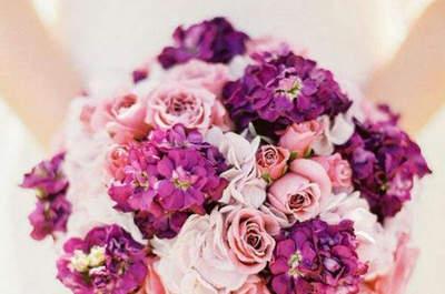 Bouquets de mariée couleur rose : des créations subtiles pour un résultat glamour !