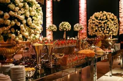 Buffet de casamento em Curitiba: confira os SUPER recomendados!