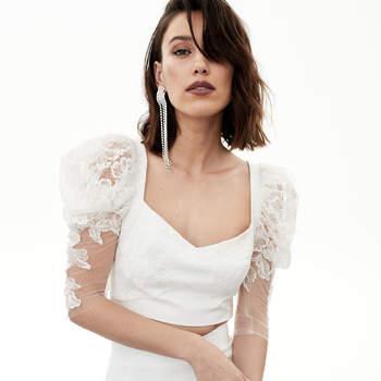 Rime Arodaky - Jupe Wylde et top Roses