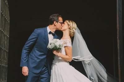 Amandine et Florent : un beau mariage alliant chic et nature