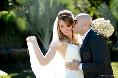 Casamento ao ar livre de Mary Helen & Rodrigo: cena de cinema em Campinas