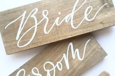 Каллиграфия — изысканная техника для вашей свадьбы!