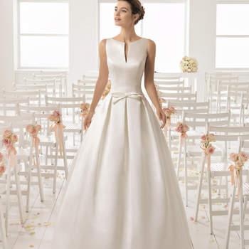 Los mejores vestidos de novia con cuello barco. ¡Una apuesta elegante y ultra femenina!