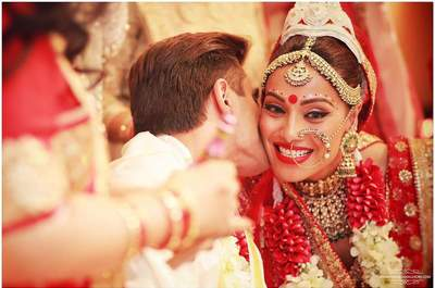 How can a bride choose her nose ring according to her face shape