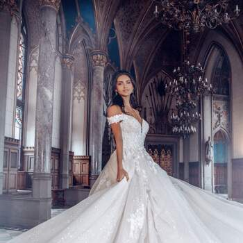 Belle by Allure Bridals | Credits: Disney