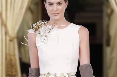 Cinture da sposa: valorizza la tua figura e personalizza il tuo abito da sposa
