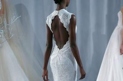 Monique Lhuillier Bridal Collection Fall/Winter 2013