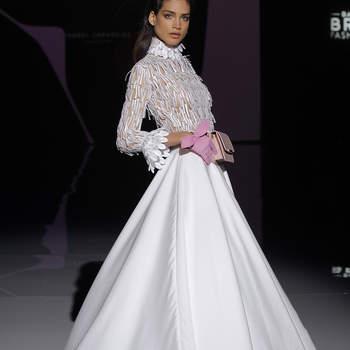 Isabel Zapardiez. Credits: Barcelona Bridal Fashion week