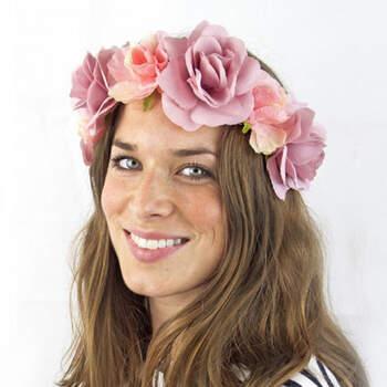 Corona de flores- Compra en The Wedding Shop