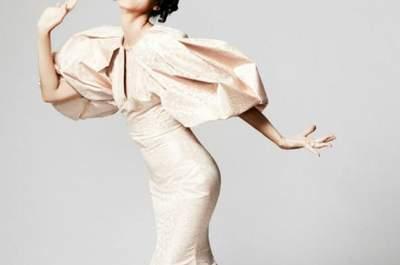 Zac Posen: Vestidos de fiesta largos colección Crucero 2014
