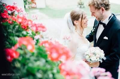 Magdalena & Kilian: romantische Sommerhochzeit zu Dritt