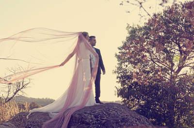 Espectacularmente preciosa y divertida: la boda de Carlos y Aitana