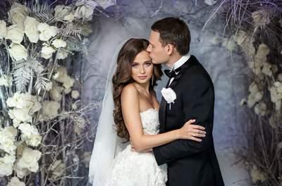 Зимняя сказка: свадьба Ольги и Антона