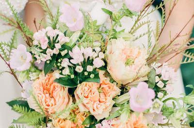 Bukiety ślubne z polnych kwiatów! Cudo natury!