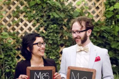 Romantisch und extravagant: Hinterhof-Hochzeiten!