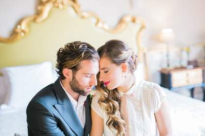 Desde Granada con amor... Una boda de ahora con aromas del ayer