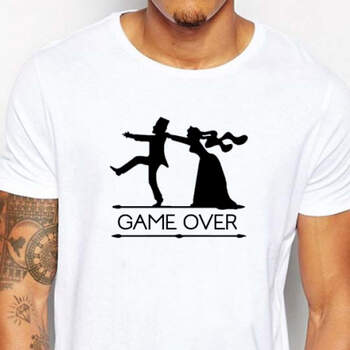 Camiseta Game Over- Compra en The Wedding Shop
