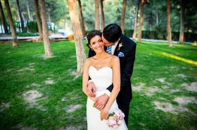 Unidos por una lesión: la boda de Elena y Sergio