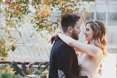 Amor en un invernadero: preboda de Gabi y Rosa