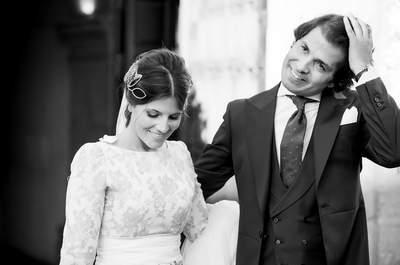 Una novia y dos vestidos: la boda de María y Miguel
