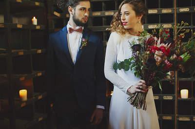 Apuesta por el estilo industrial con aires vintage para tu boda y conquista a todos