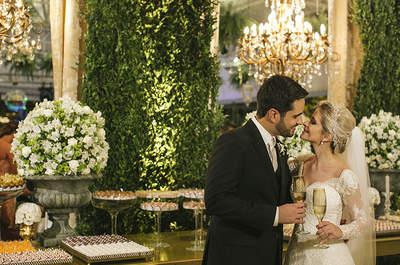 Jaqueline & Vitor: casamento clássico e sofisticado no Recife