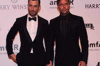 Ricky Martin y Jwan Yosef. Credits: Cordon Press