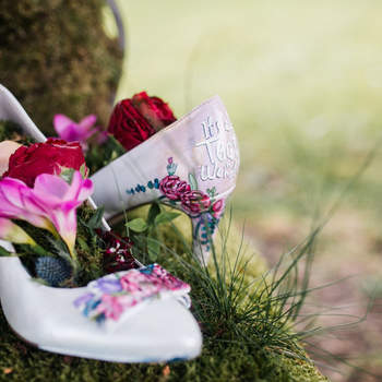 Credits: Schuhnique - handpainted shoes