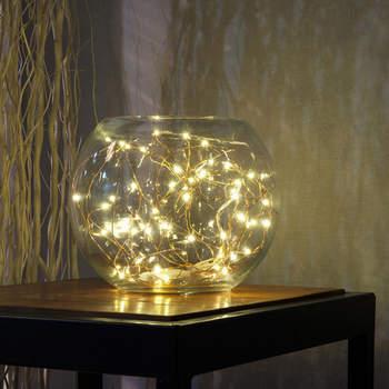 Bola de cristal con luces led en el interior. Credits: Aliexpress