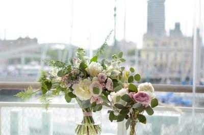 Consigue un ramo de novia con un diseño único gracias a Flor Decor Barcelona