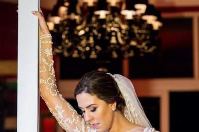 Casamento Clássico de Bárbara & Bruno: decoração perfeita e digna de contos de fada!