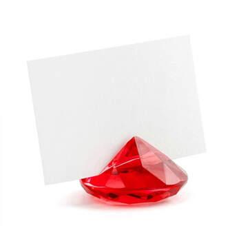 Marcasitio diamante rojo 10 unidades- Compra en The Wedding Shop