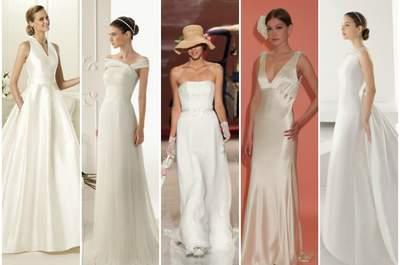 Sélection de robes de mariée simples 2013