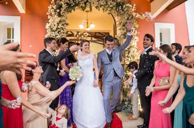 Casamento rústico de Maria Fernanda e Pedro: romântico como eles e o friozinho da serra de Araras